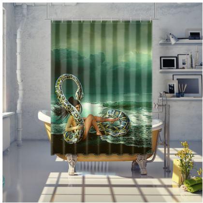 A peculiar Encounter Bespoke shower curtains