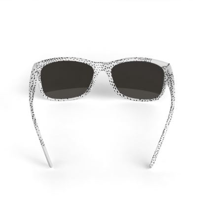 Drift Black and White Sunglasses