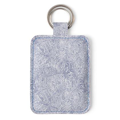 Fern design key ring