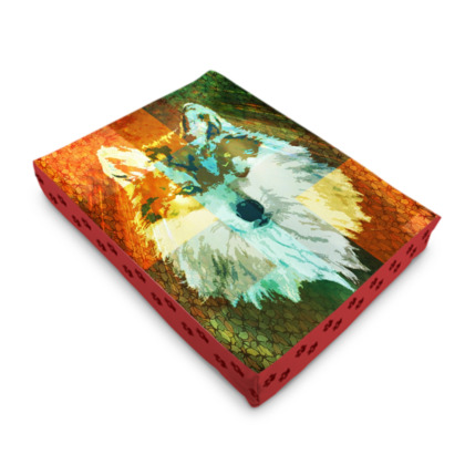 Mexican Grey Wolf Pet Bed