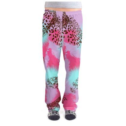 Pink Jungle Pyjama bottoms