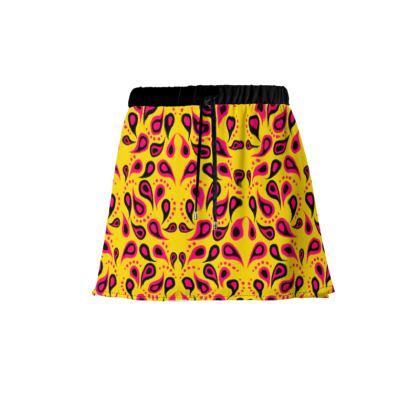 Tropical Paisley Skirt