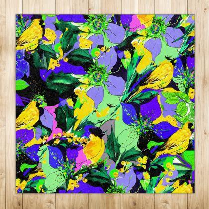 Tappeto lineai fiori