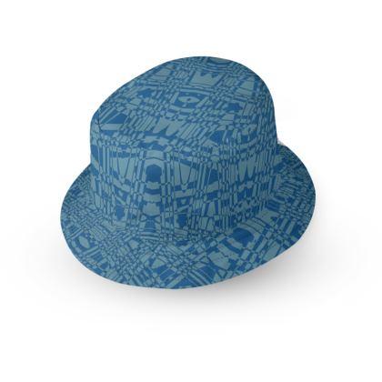 Blue Lace Bucket Hat