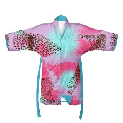 Pink Jungle Kimono