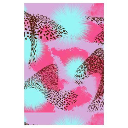 Pink Jungle Slip Dress