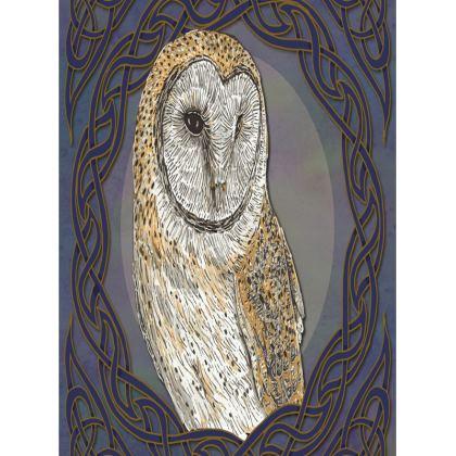 Celtic Barn Owl Tray