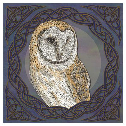 Celtic Barn Owl Coasters