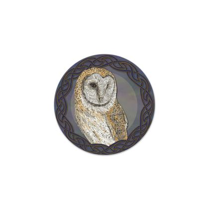 Celtic Barn Owl Serving Platter
