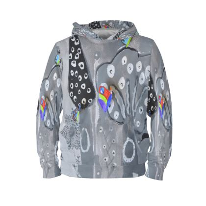 Paper Painting Forest Hoodie