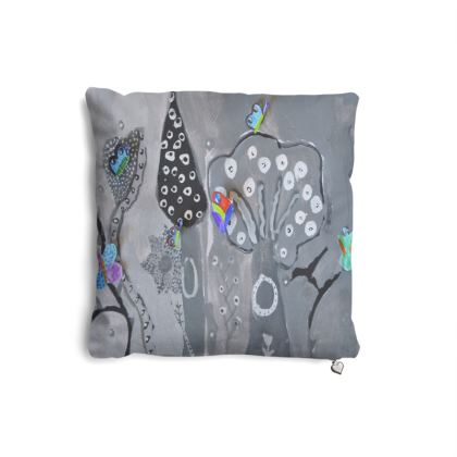 Paper Painting Forest Pillows Set