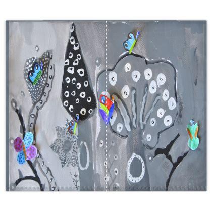 Paper Painting Duvet Covers Set