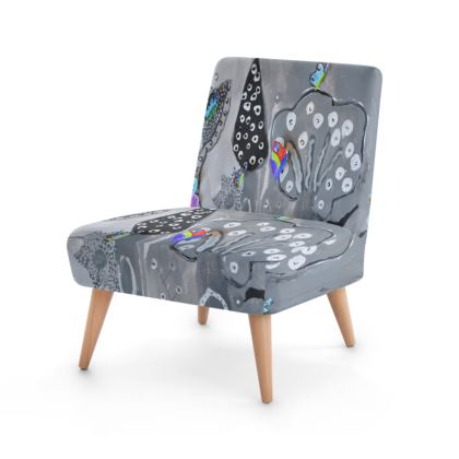 Paper Painting Forest Occasional Chair