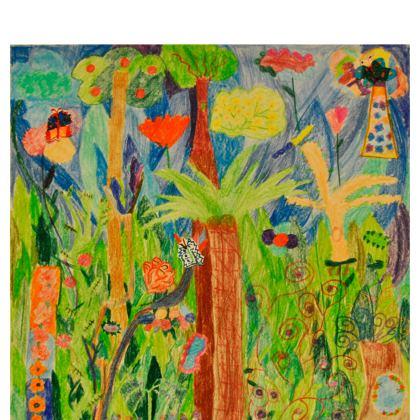 Exotic Forest Kimono