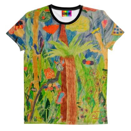 Exotic Forest All Over Print T-Shirt