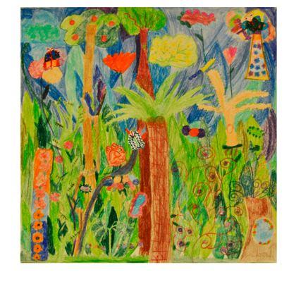 Exotic Forest Slip Dress