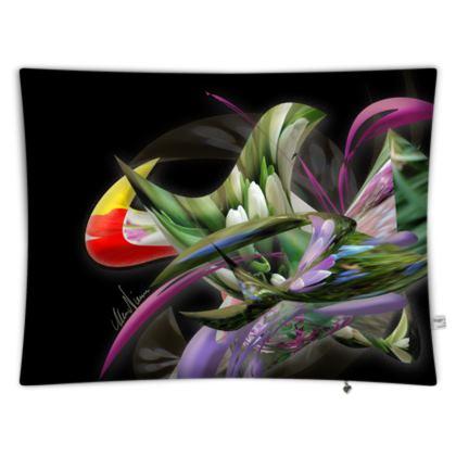 Floor cushion - Golvkudde - Spring Black