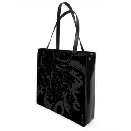 Shopper bag - Shopping väska - Black ink black