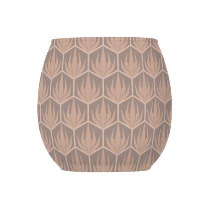 Palm Deco Pattern ~ DESERT OASIS Tealight Holder