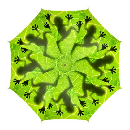 Amazonian Mysterious Frog High quality Umbrella