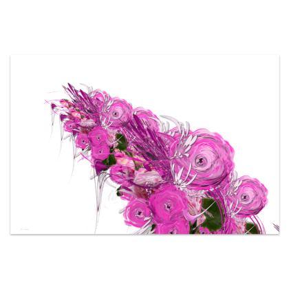 Sarong - Pink summer fantasy