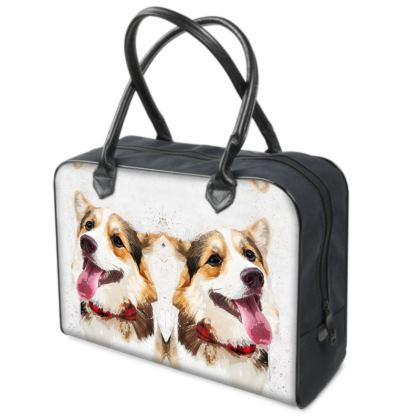 Your Pets Portrait on this Quality Holdall Bag!