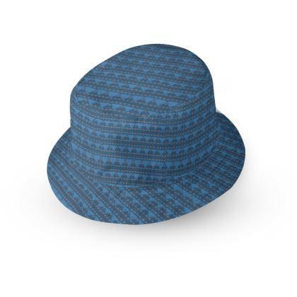 Aztec Blue Bucket Hat