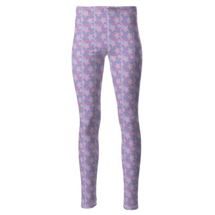 Star Print Women's High waisted leggings
