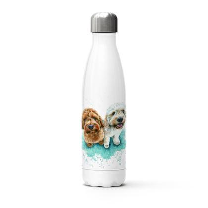 Pet Portrait Water Bottle