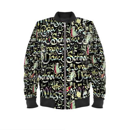 Graffitiesque Bomber Jacket