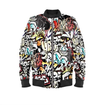 Urban Art Bomber Jacket
