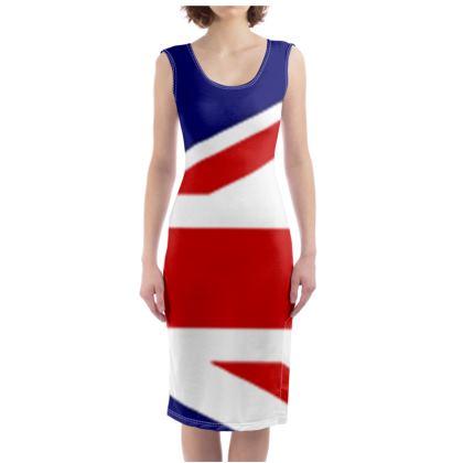 Glad to be BRITISH bodycon Dress
