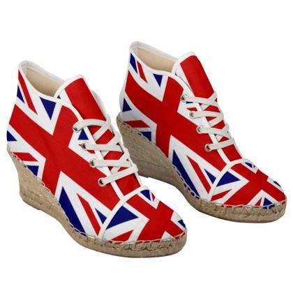 Glad to be British Espadrilles
