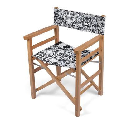 Black and White Faces by Elisavet Directors Chair