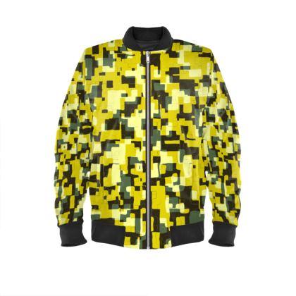Pixelated Bomber Jacket