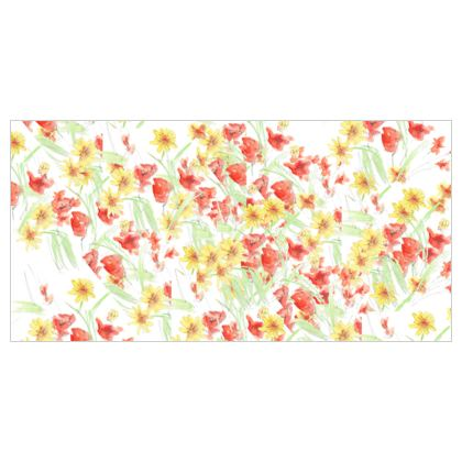 Field of Poppies Fabric