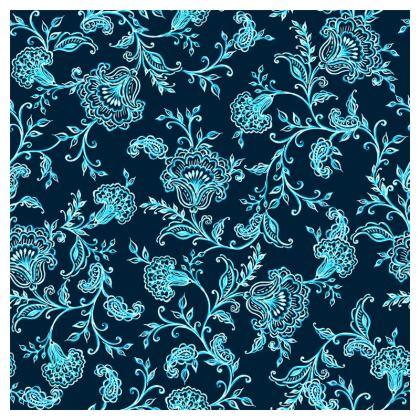 Ornate Chintz Floral Cushion