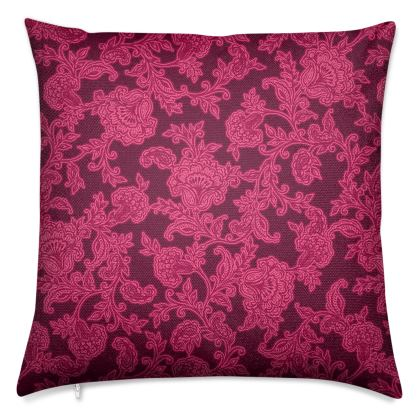 Luxurious Indian Summer Pink Cushions
