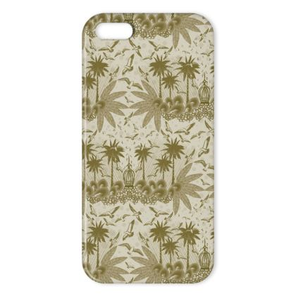 Singing Bird Collection - Sand - iPhone X Case