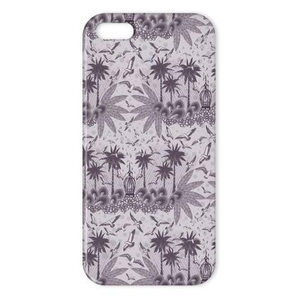 Singing Bird Collection - Plum - Luxury iPhone X Case