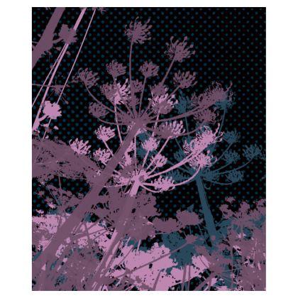 Bomber Jacket - Florals Black