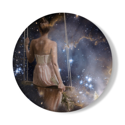 Watching the Universe Decorative Plate