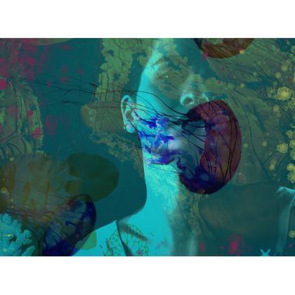 Underwater Leather Handbag