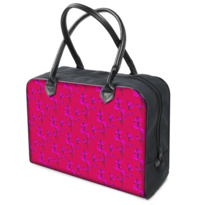 Bright and pink Holdalls / Travel Bag