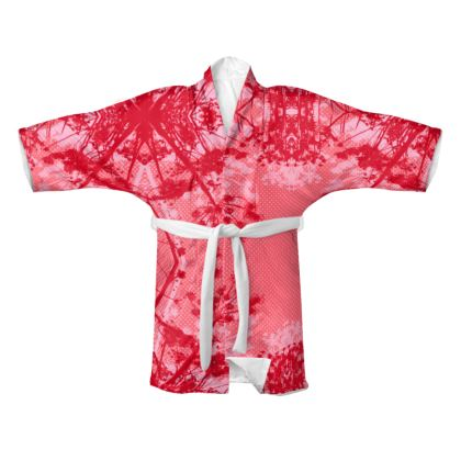 Kimono - Floral in Red