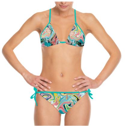 Liquid Marble Bikini