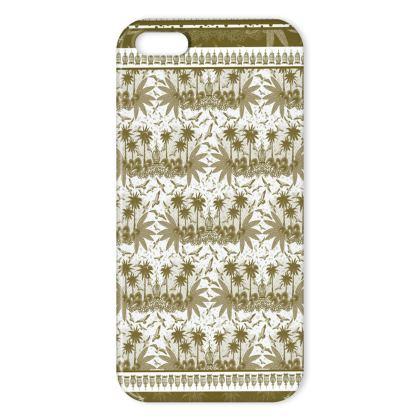 Singing Birds Design - Sand Scarf - iPhone X Case