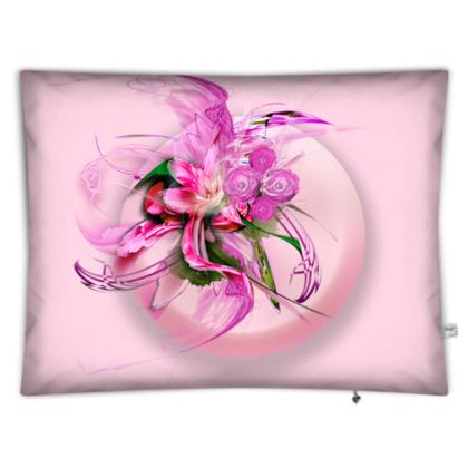 Floor cushion - Golvkudde - Pink dream pink