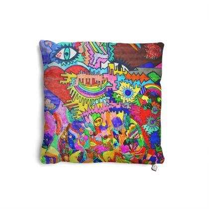 Pop Art Heart by Elisavet Pillows Set