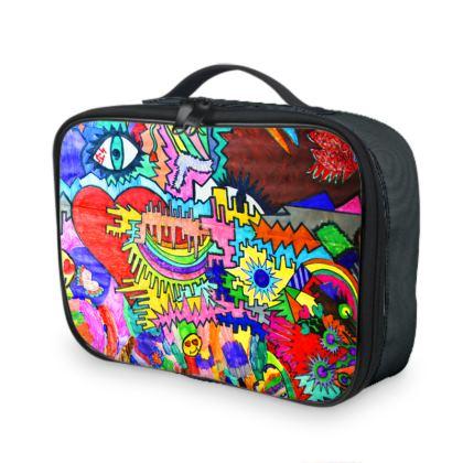 Pop Art Heart by Elisavet Lunch Bags